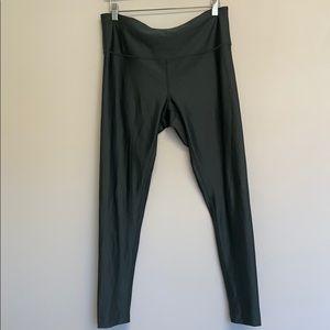 Zella green leggings size large